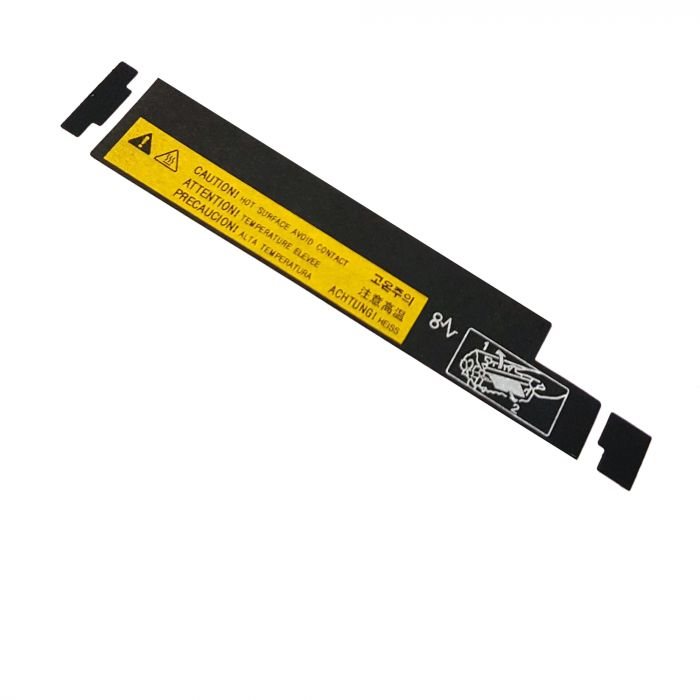 4250-TEMP-LABEL : HP LaserJet 4200 4250 4300 4345 4350 M4345 M4349 High Temperature Caution Label